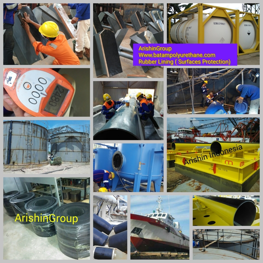 PROFESIONAL RUBBER LINING AND COATING ( SURFACES PROTECTION )